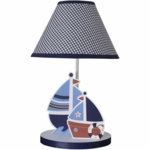 Bedtime Originals Sail Away Lamp with Shade & Bulb