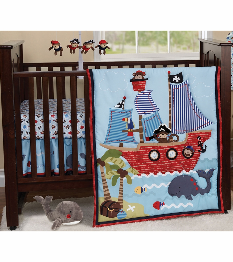 Bedtime Originals Treasure Island 3 Piece Crib Bedding Set
