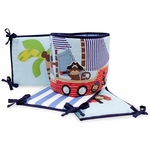 Bedtime Originals Treasure Island Crib Bumper