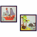 Bedtime Originals Treasure Island Wall Décor