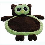 Bestever Baby Mat in Green Owl
