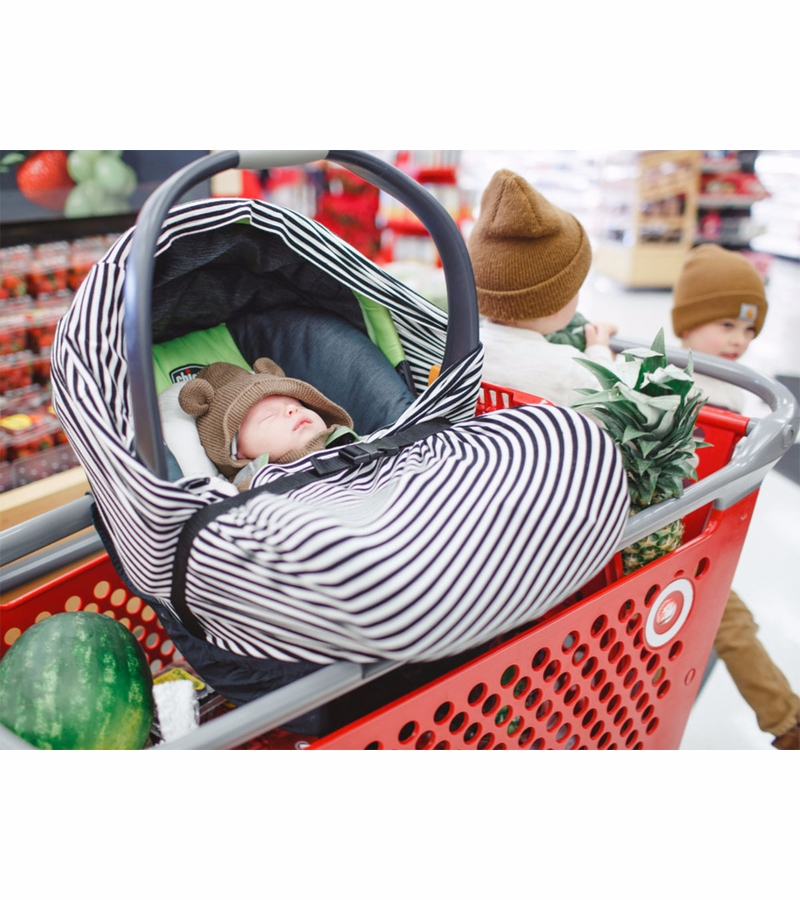Binxy Baby Shopping Cart Hammock Black