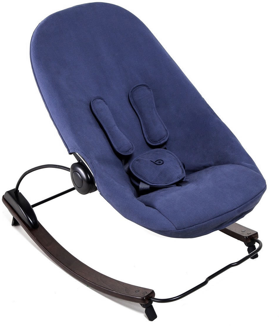 Bloom Coco Go 3-In-1 Baby Lounger, Organic Seat Pad -  Ca...