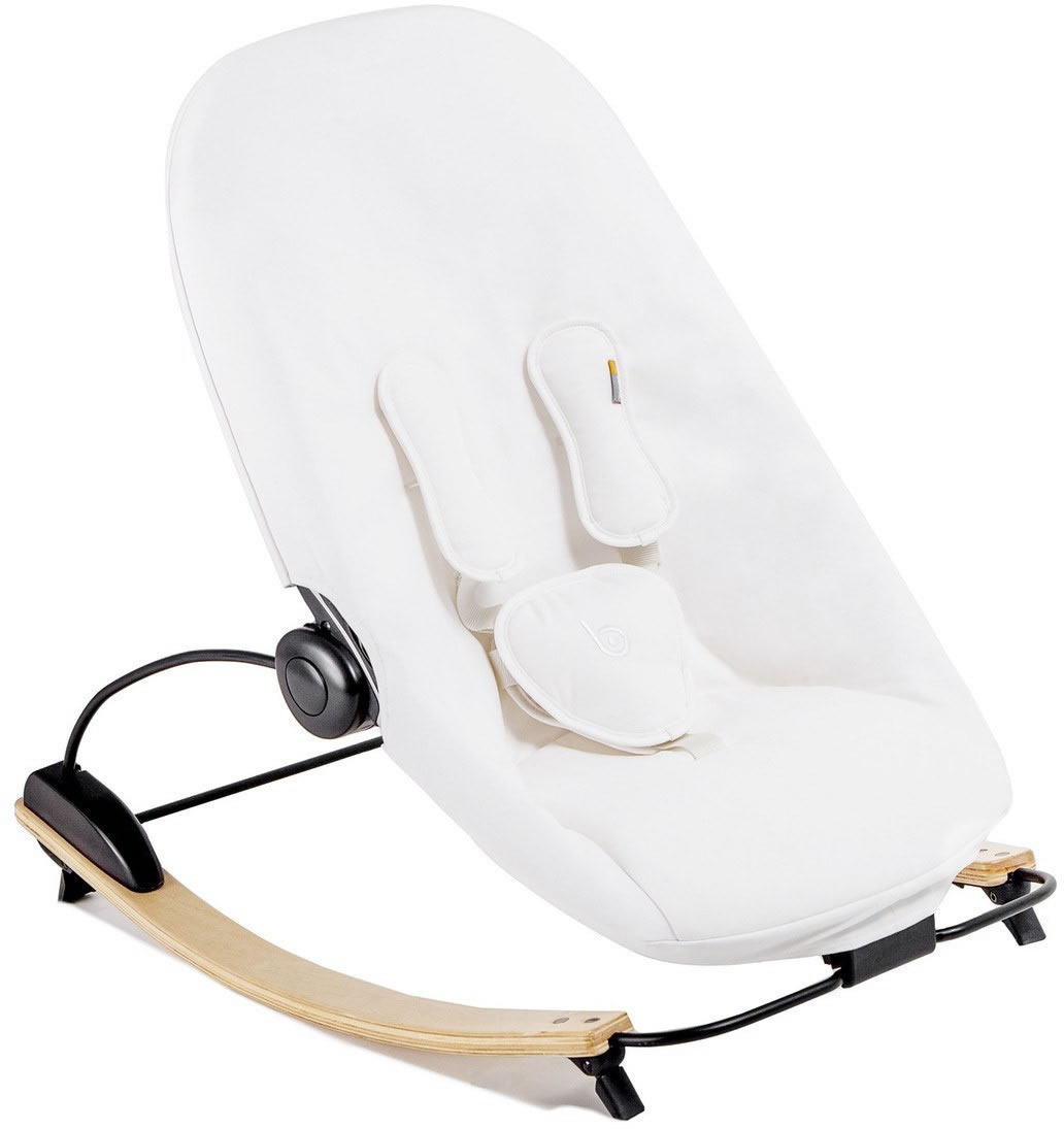 Bloom Coco Go 3-In-1 Baby Lounger, Organic Seat Pad - Nat...