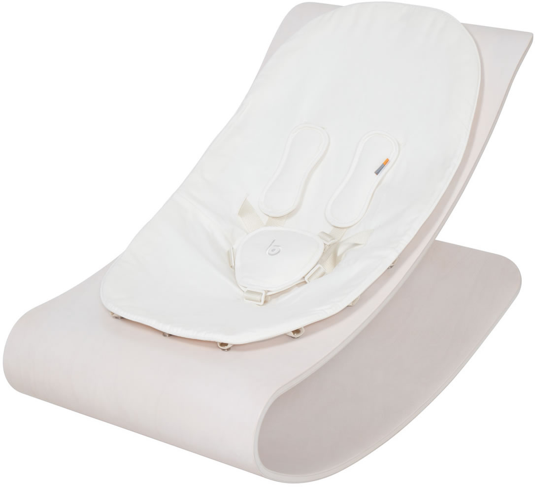 Bloom Coco Stylewood Baby Lounger - Beach House White/Coc...
