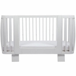 Bloom Retro Crib Toddler Rail - Coconut White