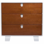 Bloom Retro Dresser - White/Oak