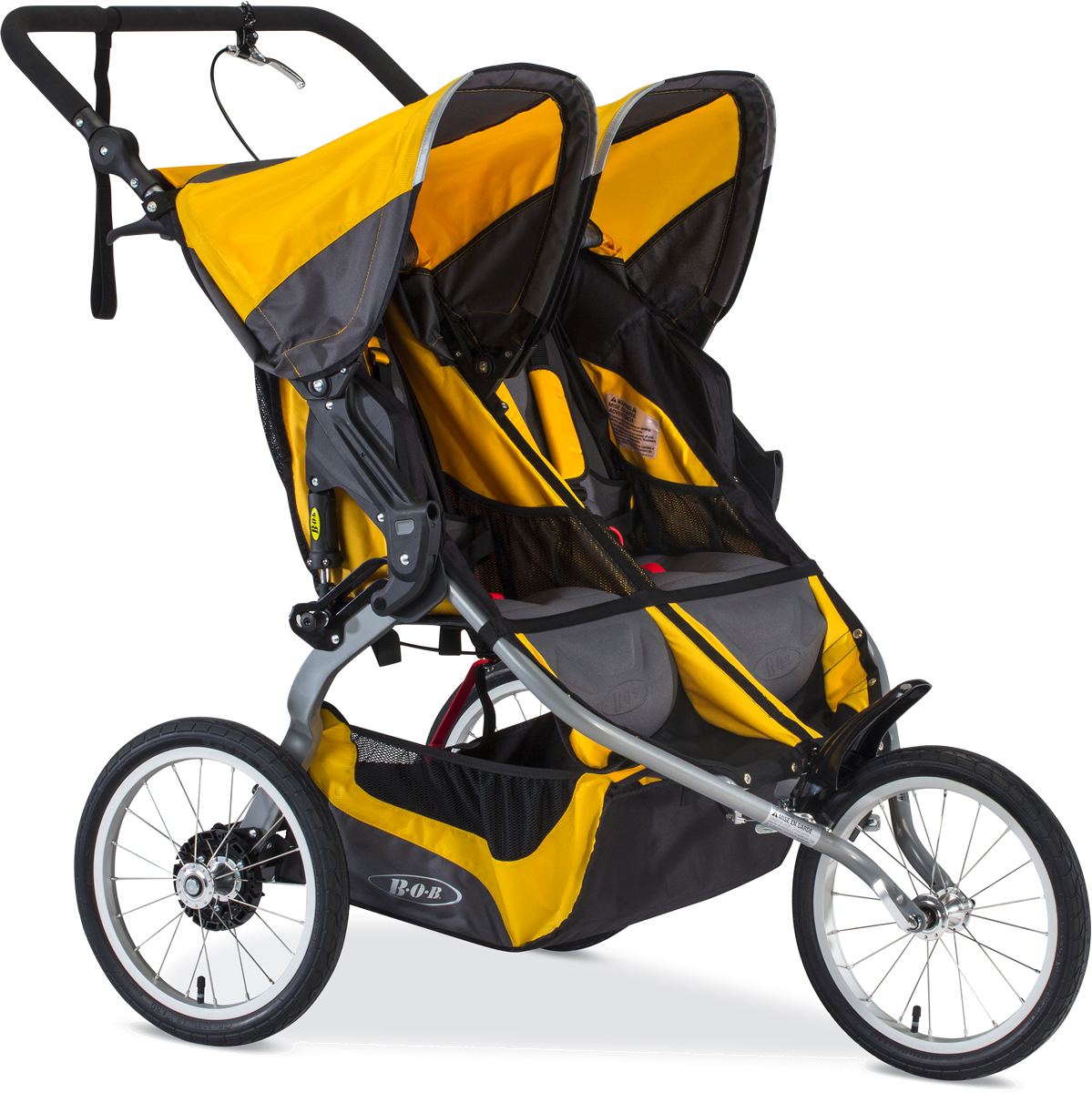 Bob Strollers 2017 / 2018 Ironman Duallie Double Jogging ...