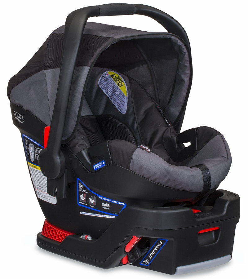 bob b safe 35 infant car seat black. Black Bedroom Furniture Sets. Home Design Ideas