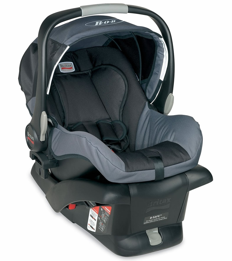Britax B Safe Infant Car Seat Black