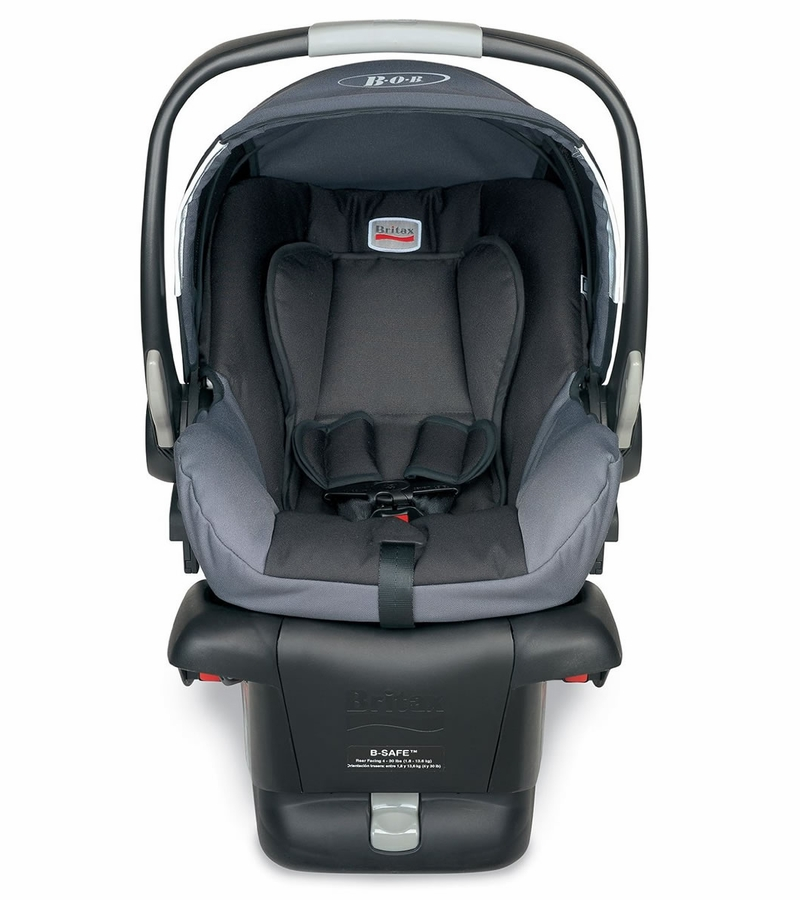 bob b safe infant car seat black. Black Bedroom Furniture Sets. Home Design Ideas