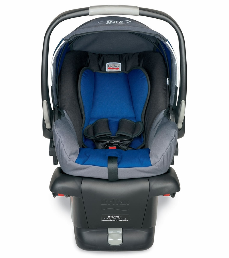 bob b safe infant car seat navy. Black Bedroom Furniture Sets. Home Design Ideas