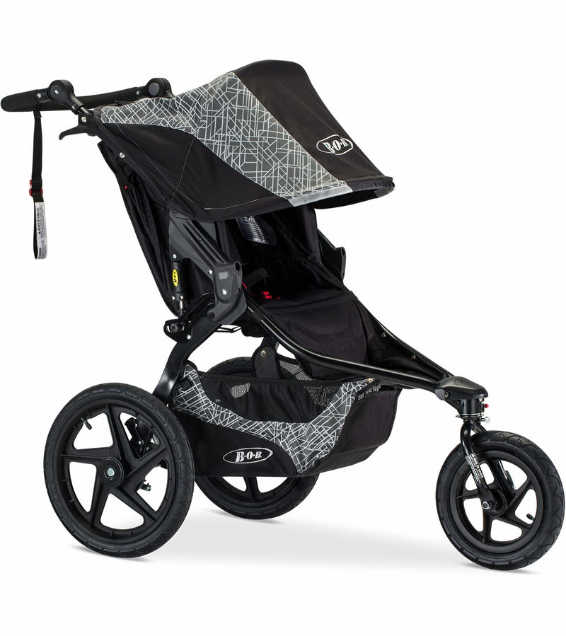 Bob Revolution Flex 2017 2018 Single Stroller Lunar