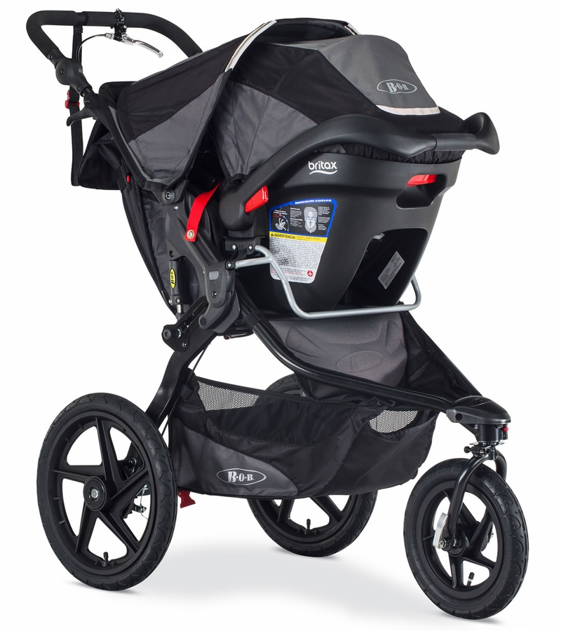 bob revolution pro jogging stroller 2017 2018 black black. Black Bedroom Furniture Sets. Home Design Ideas