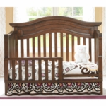 Bonavita Sheffield Lifestyle Guard Rail in Dark Walnut