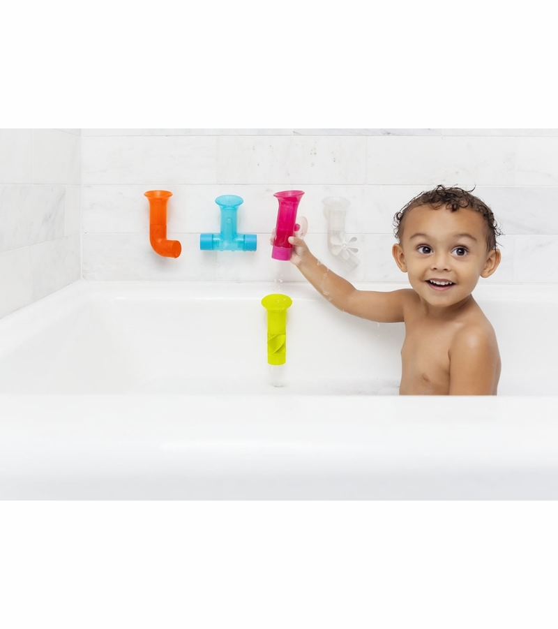 boon pipes builder bath toy. Black Bedroom Furniture Sets. Home Design Ideas