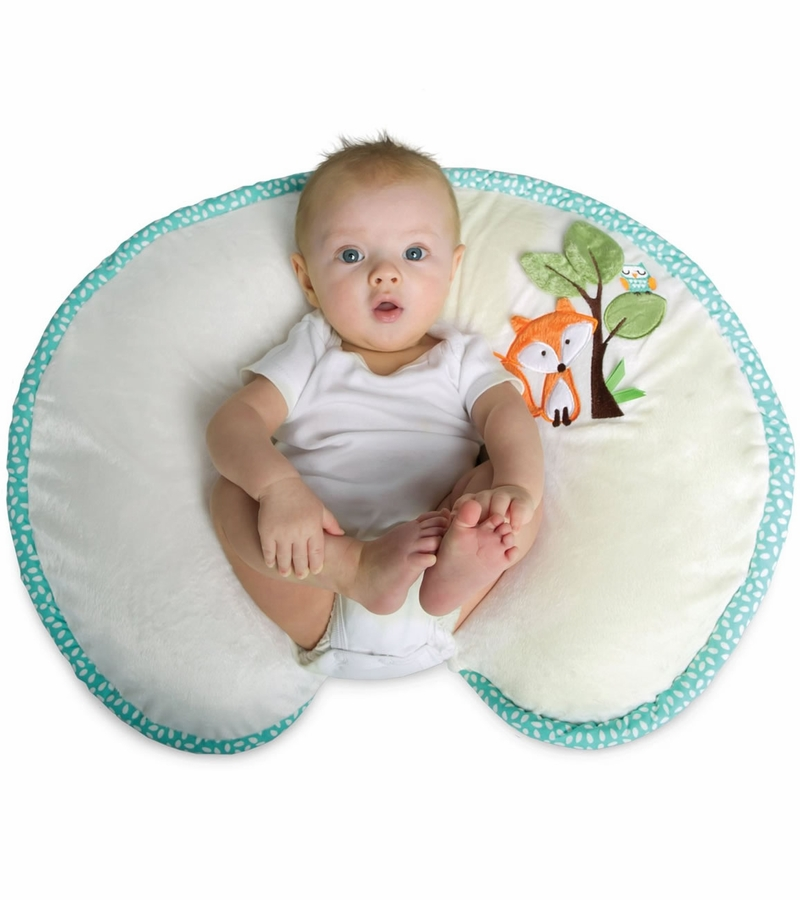 Boppy Pillow With Luxe Slipcover Fox Amp Owls