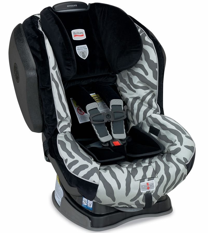 britax advocate g4 convertible car seat zebra. Black Bedroom Furniture Sets. Home Design Ideas