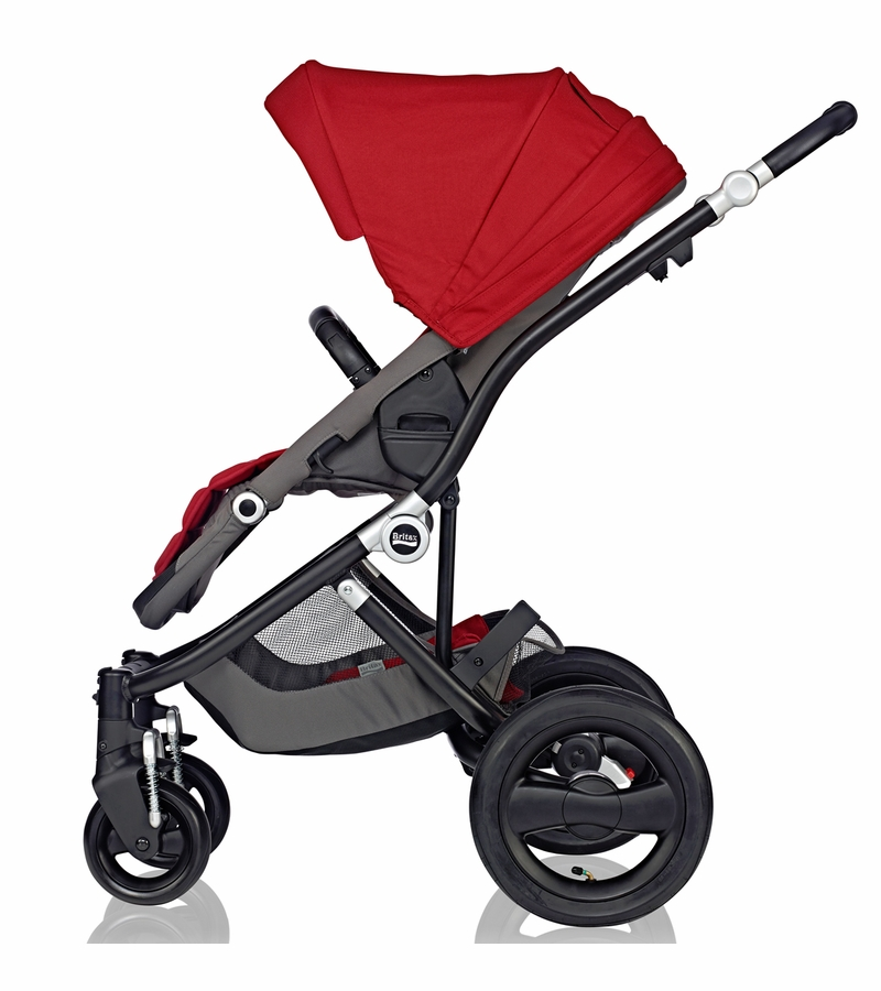 britax affinity complete stroller black red pepper. Black Bedroom Furniture Sets. Home Design Ideas