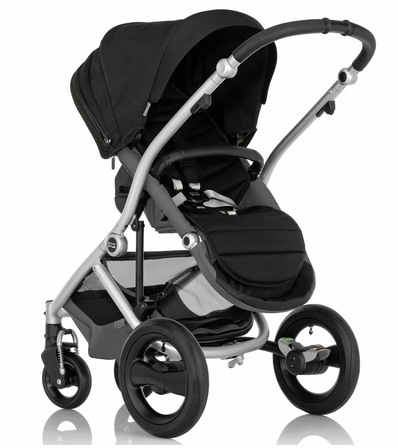 britax affinity complete stroller silver black. Black Bedroom Furniture Sets. Home Design Ideas