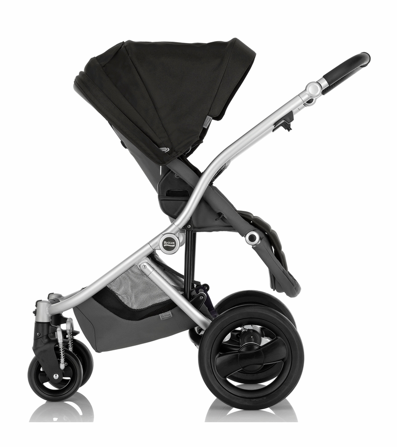sc 1 st  Albee Baby & Britax Affinity Complete Stroller Silver - Black