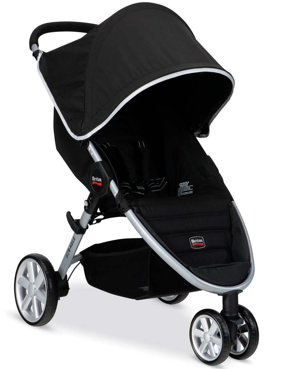 britax b agile 2014 stroller black. Black Bedroom Furniture Sets. Home Design Ideas