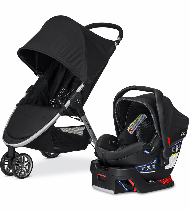 Britax B-Agile 3 & B-Safe 35 Elite Travel System - Domino