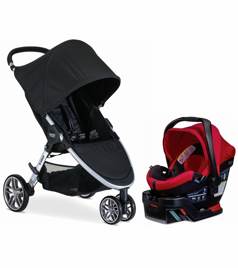 Britax B Agile And B Safe Travel System Reviews