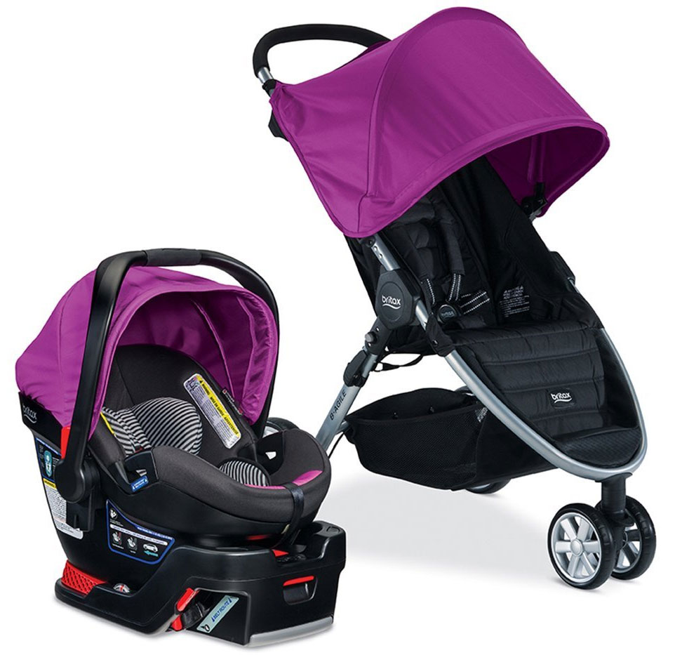Britax B Agile  B Safe  Elite Travel System Reviews