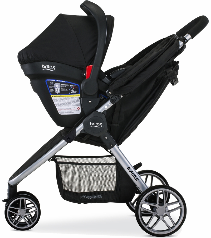 Britax B Agile And B Safe  Travel System