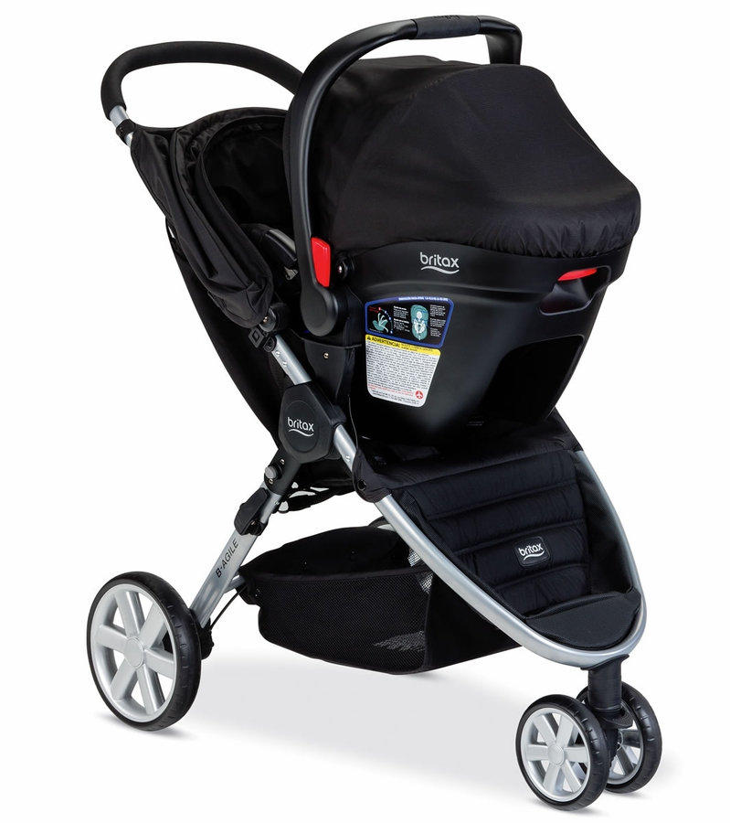 Britax B Agile 3 Amp B Safe 35 Travel System Black