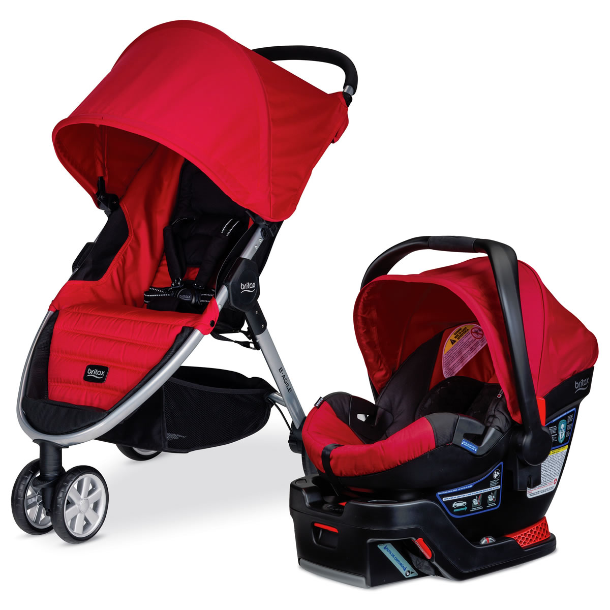 britax b safe infant car seat red albeebaby autos post. Black Bedroom Furniture Sets. Home Design Ideas