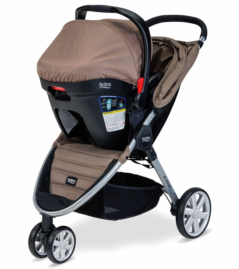 Britax B Agile Travel System Sandstone Reviews