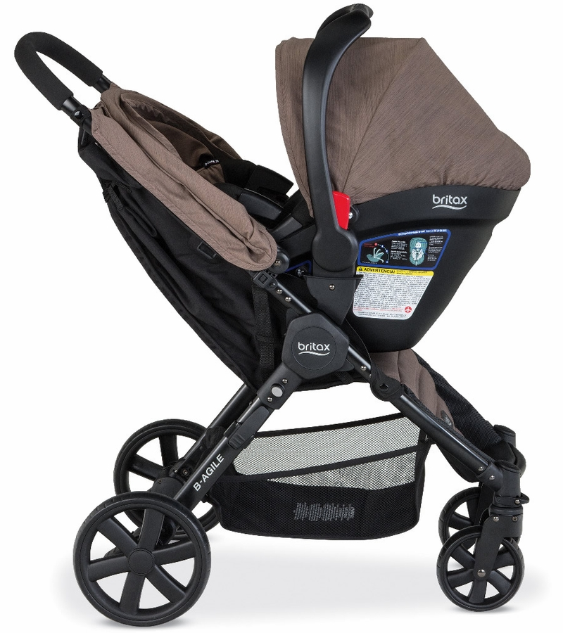 Britax B Agile Travel System Brown