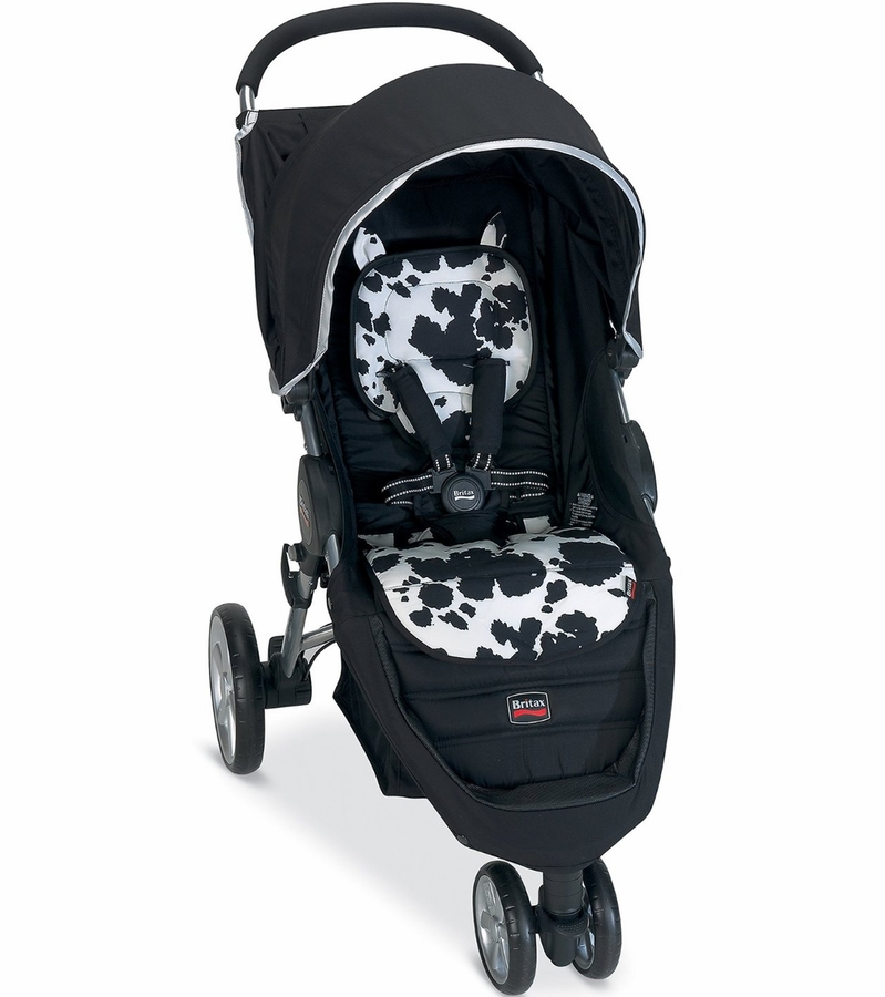 britax b agile stroller fashion kit cowmooflage. Black Bedroom Furniture Sets. Home Design Ideas
