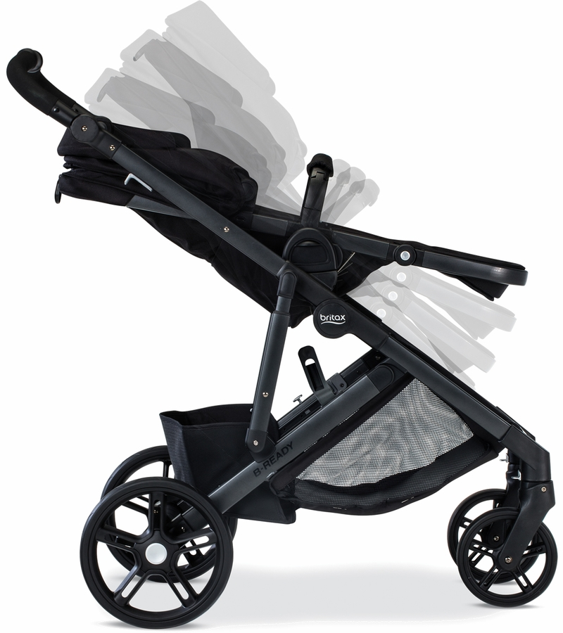 Britax B Ready Stroller And Lower Infant Car Seat Adapter