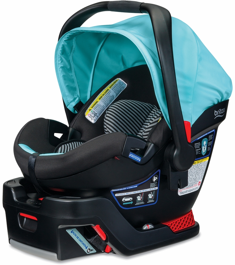 britax b safe 35 elite infant car seat aqua. Black Bedroom Furniture Sets. Home Design Ideas