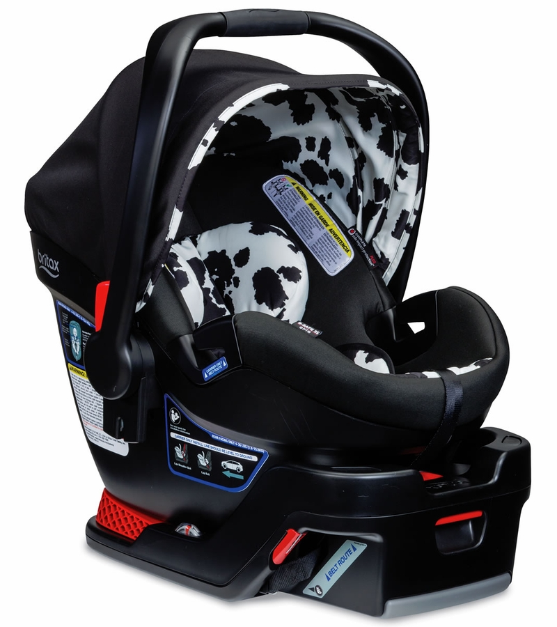 britax b safe 35 elite infant car seat cowmooflage