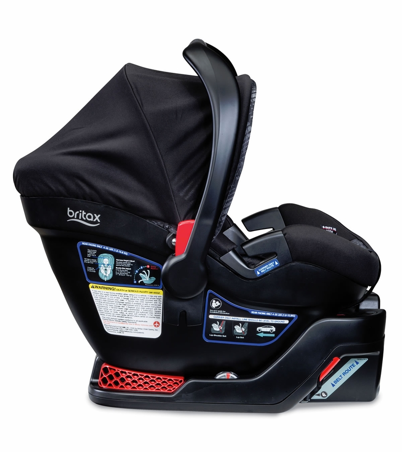 britax b safe 35 elite infant car seat domino. Black Bedroom Furniture Sets. Home Design Ideas