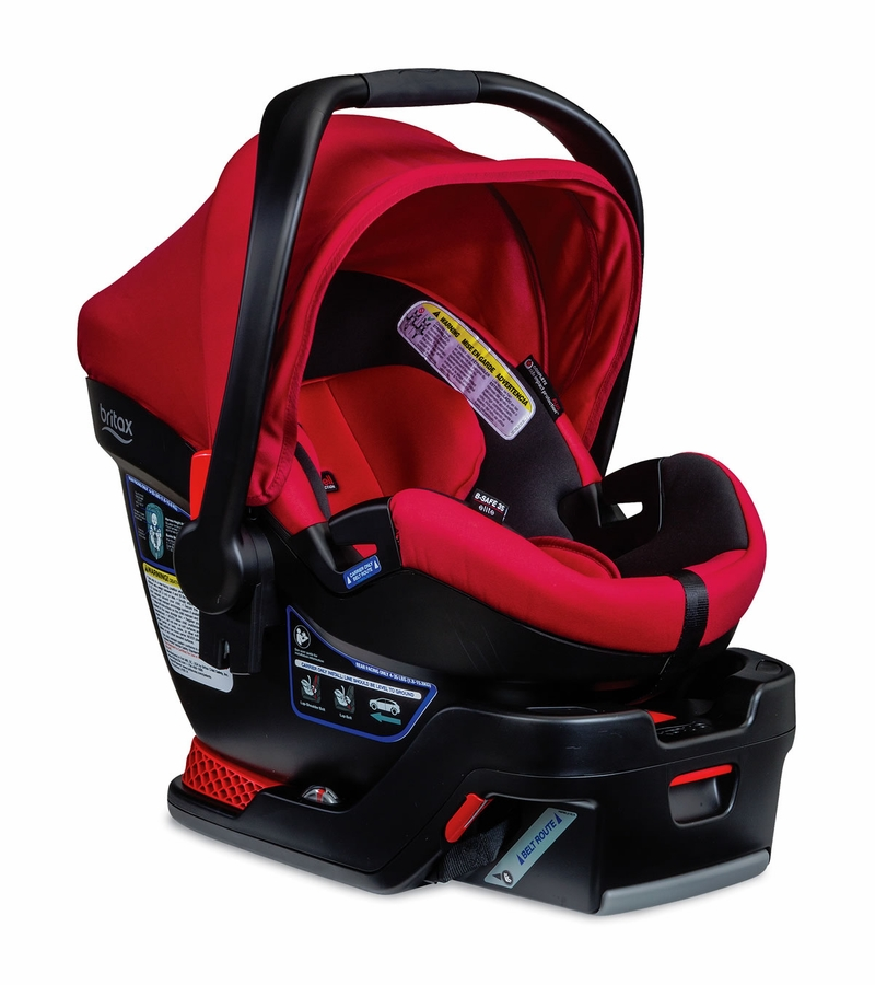 britax b safe 35 elite infant car seat red pepper. Black Bedroom Furniture Sets. Home Design Ideas