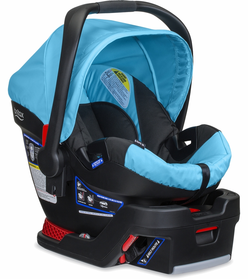 britax b safe 35 infant car seat cyan. Black Bedroom Furniture Sets. Home Design Ideas