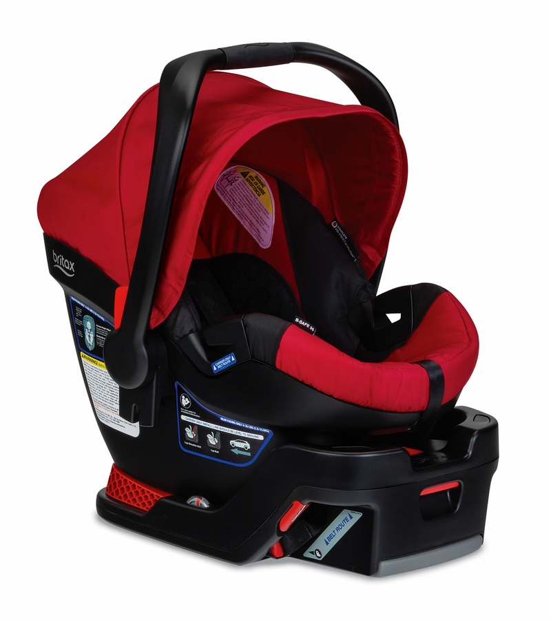 Britax B Safe Infant Car Seat Amp