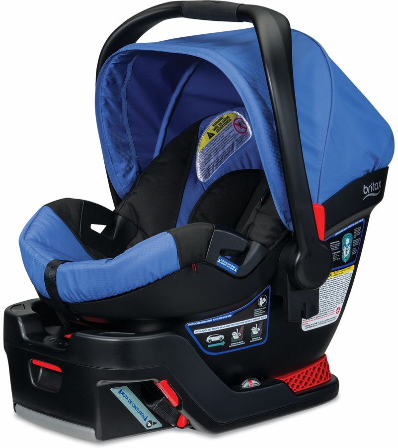 britax b safe 35 infant car seat sapphire d. Black Bedroom Furniture Sets. Home Design Ideas