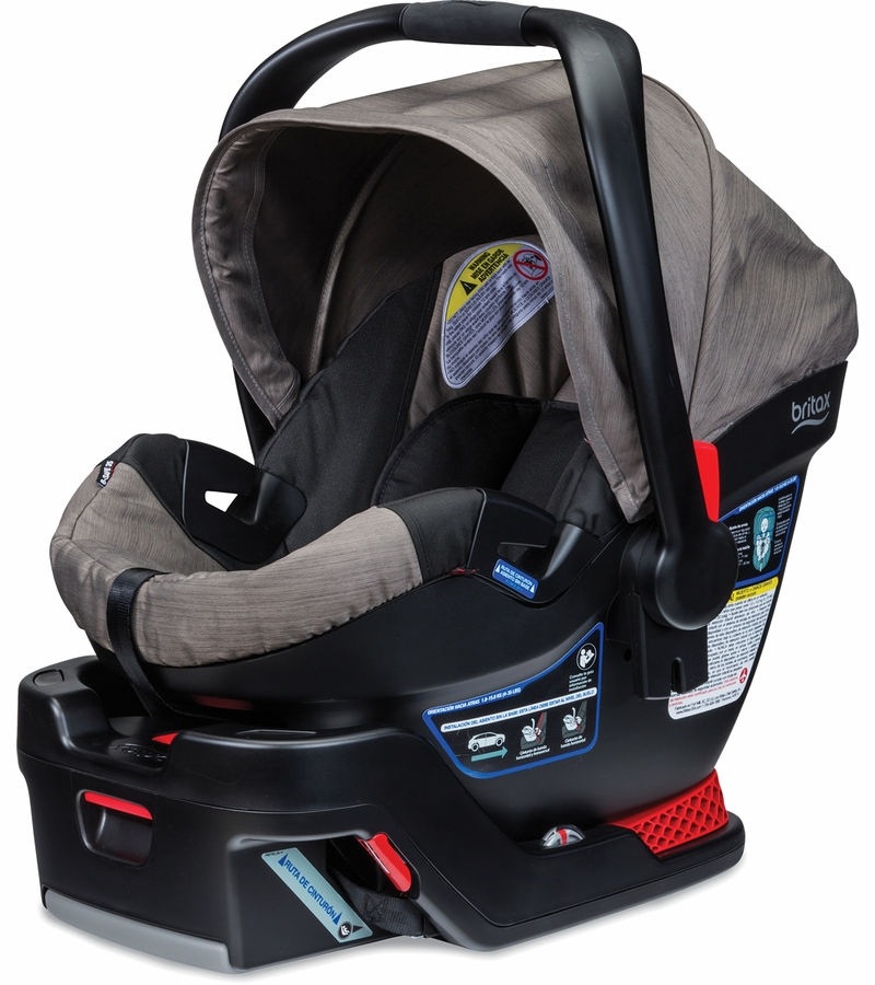 britax b safe 35 infant car seat slate strie. Black Bedroom Furniture Sets. Home Design Ideas