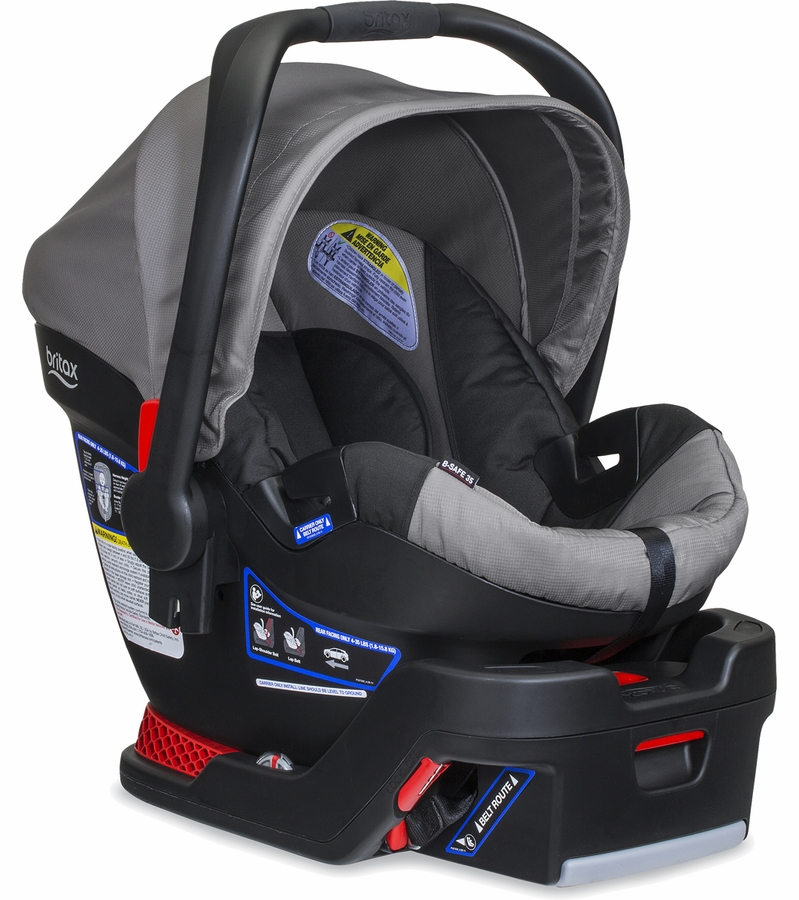 britax b safe 35 infant car seat steel. Black Bedroom Furniture Sets. Home Design Ideas