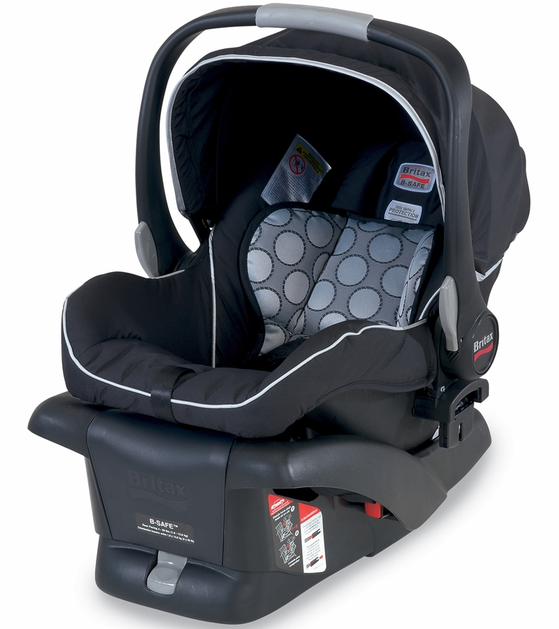 britax b safe infant car seat black. Black Bedroom Furniture Sets. Home Design Ideas