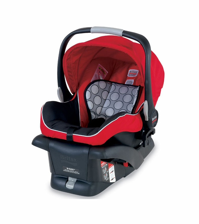 britax b safe infant car seat red. Black Bedroom Furniture Sets. Home Design Ideas