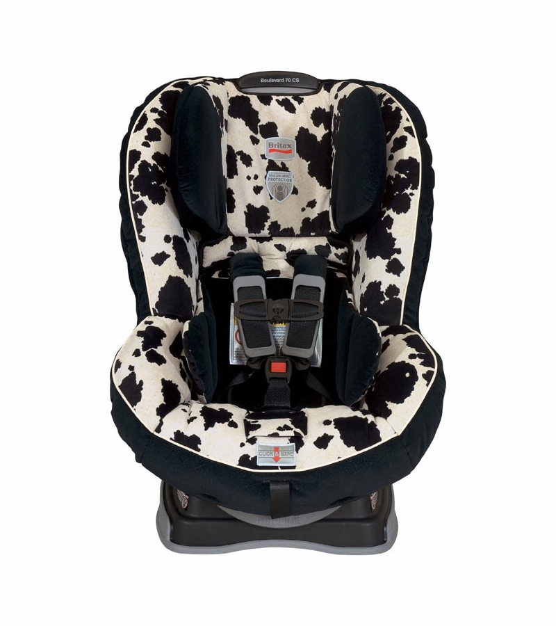 britax boulevard 70 cs car seat in cowmooflage. Black Bedroom Furniture Sets. Home Design Ideas