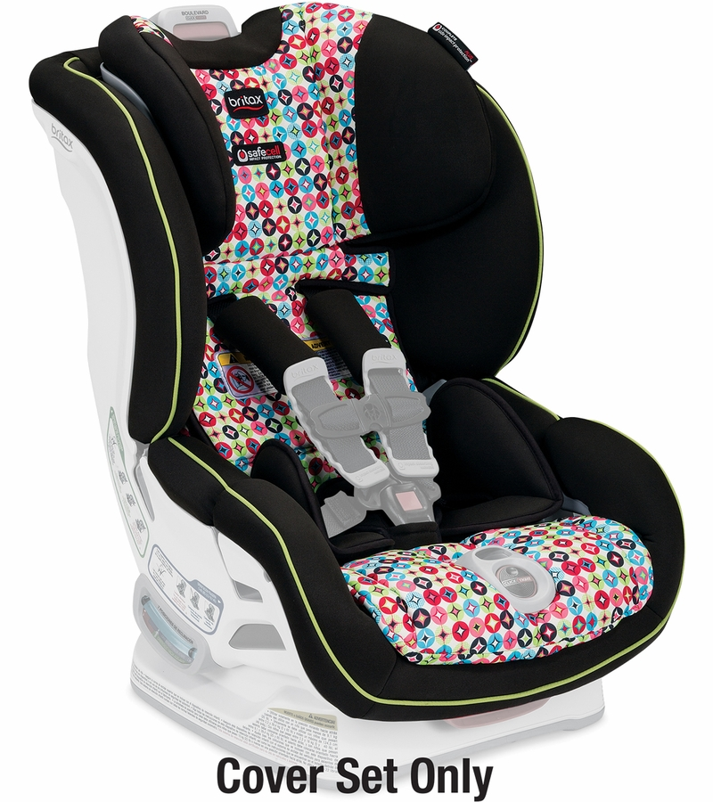 britax boulevard click tight convertible car seat cover set kaleidoscope. Black Bedroom Furniture Sets. Home Design Ideas
