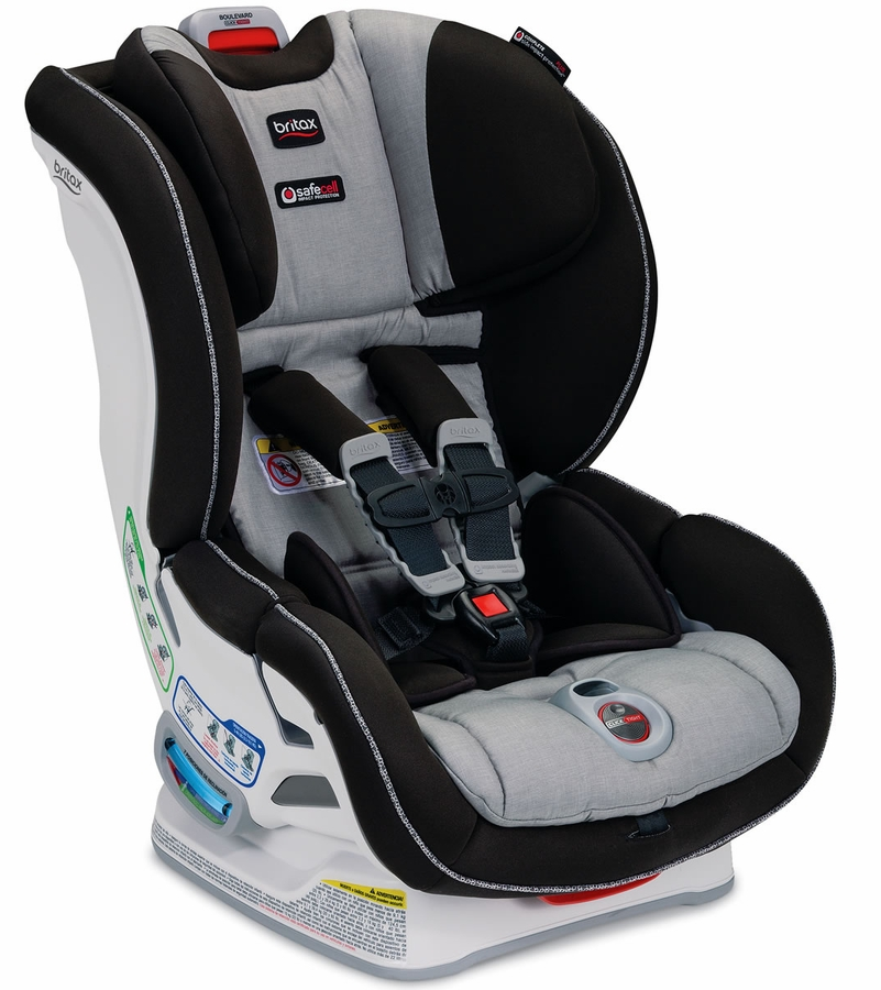 britax boulevard clicktight convertible car seat metro. Black Bedroom Furniture Sets. Home Design Ideas